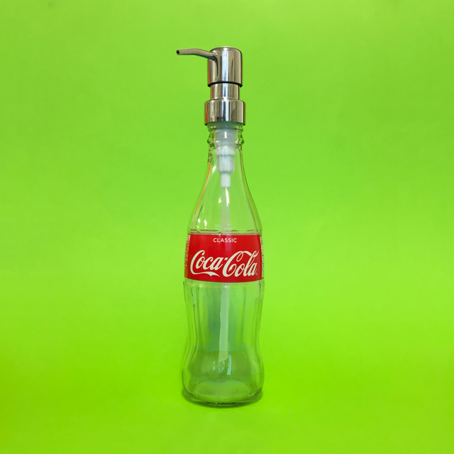 Coke Soap and Lotion Dispenser