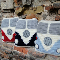 Campervan VW Style Cushion, Novelty Cushion, Campervan collectables