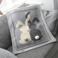 Crochet Baby Bunnies blanket