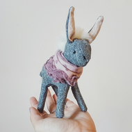 Donkey, Soft Sculpture, Debbie