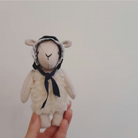 Lamb, Soft Sculpture, Wilma