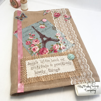 Vintage Style Notebook or Diary
