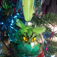 """THE GRINCH"" CHRISTMAS BAUBLE"