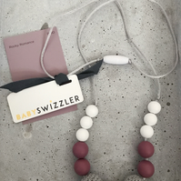 Rocky Romance Baby Swizzler Teething Necklace