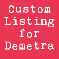 CUSTOM LISTING FOR DEMETRA - Custom Artemis Was Right 5x7 Print