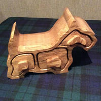 Scottie Dog Jewellery box