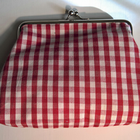 Make up bag in fairtrade cotton