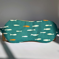 Eye mask in organic cotton