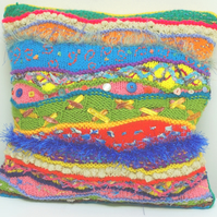 Colourful Textile Cushion