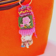 Boho Colourful Bag Charm