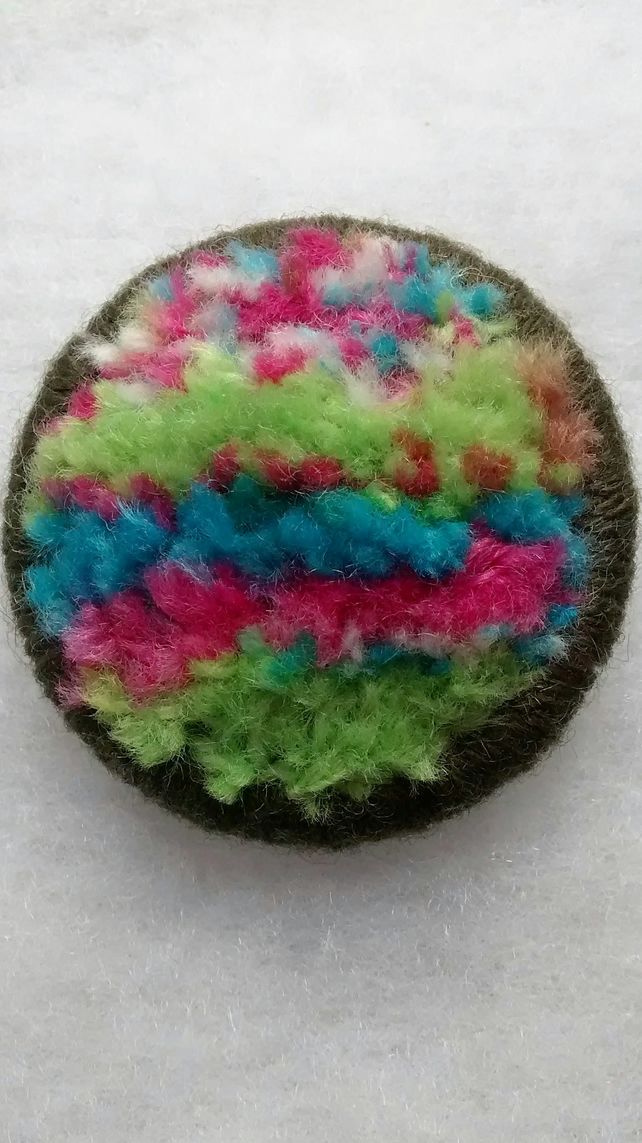 Dorset button brooch