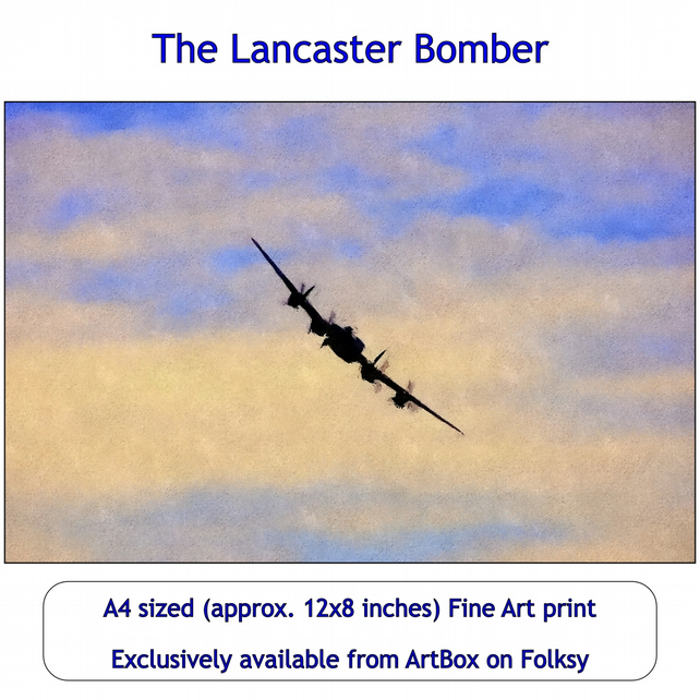 The Lancaster - Quality Fine Art Print