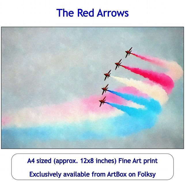 The Red Arrows - Quality Fine Art Print