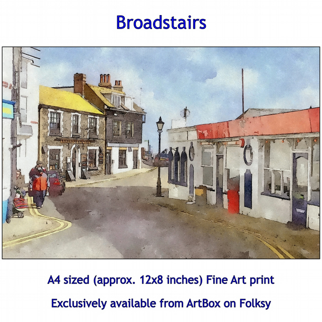 Broadstairs - Quality Fine Art Print