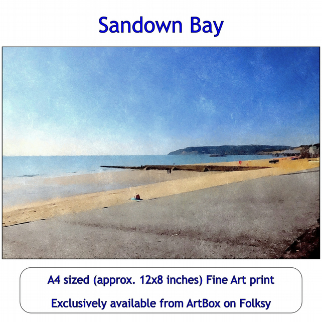 Sandown Bay -  Exclusive Fine Art Print