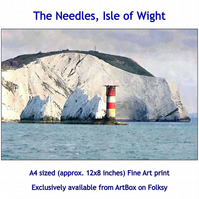 The Needles Lighthouse  - Quality Fine Art Print