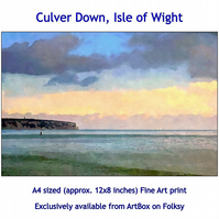 Culver Down, Isle of Wight - Quality Fine Art print