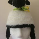 SHEEP knitted festival hat