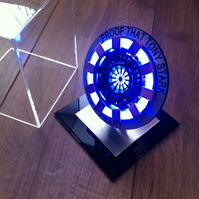 Personalised Gift - IRON MAN Arc Reactor Wearable Prop Replica