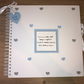 Handmade Personalised Baby Boy Scrapbook, Photo Album, Memory Book