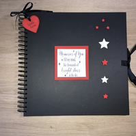 Handmade Memories Scrapbook, Photo Album, Memory Book
