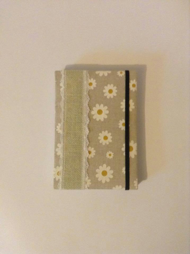 Daisy Chain Weekly Planner Diary and Contact Book A5 Handmade Handbound