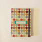 Spots and Dots Weekly Planner and Contact Book A5 Handmade Handbound Blank Dates