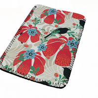 Vintage flower wallpaper kindle & e reader soft sleeve for all kindle models