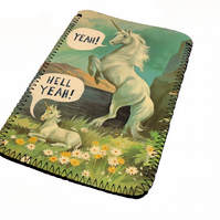 Beautiful Unicorn kindle & e reader soft sleeve for all kindle models
