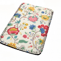 Beautiful floral pattern kindle & e reader soft sleeve for all kindle models