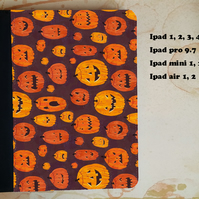 Spooky Halloween pumpkins flip case for the ipad, ipad pro, ipad mini