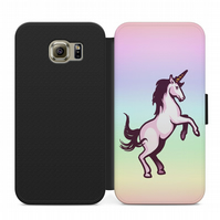 Bright Unicorn flip case for iphone 4,5,6,7,8 Samsung S3,S4,S5,S6,S7,S8 and more