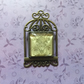 Beautiful Birdcage Brooch with Glass Cabochon