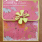 HANDCRAFTED FLORAL GIFT CARD HOLDER