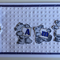 HANDMADE PERSONALISED ANY OCCASION CARD - AMY