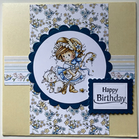 HANDCRAFTED FEMALE BIRTHDAY CARD
