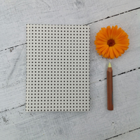 Polka dot notebook A6