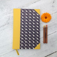 Hand bound A5 notebook - unlined
