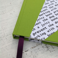 Personalised quotation notebook for Fathers' Day - A5 unlined