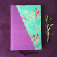 Sara Miller paper hand made hardback notebook A5 - lined