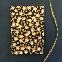 Golden Berries - lined A6 notebook