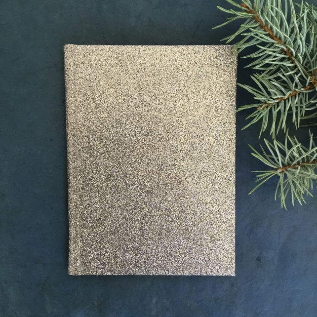 Stardust - A6 unlined notebook