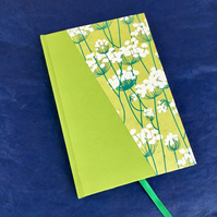 Cow parsley - A5 lined notebook