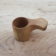Wooden spoon, coffee measure, handcrafted