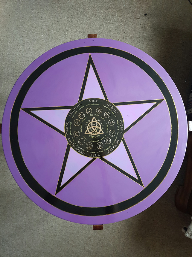 Pagan Year Calendar table