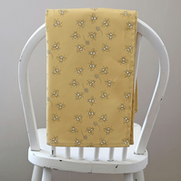 Cotton Bees in Clover Tea Towel