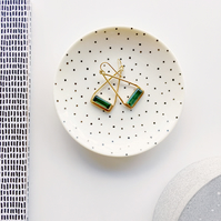 Dotted ring dish