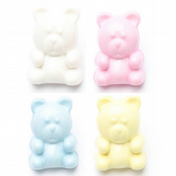 10 small teddy bear buttons 14mm