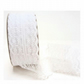 White lace 40mm scalloped vintage style lace trim