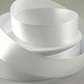 White satin ribbon 38mm wide x 2 metres